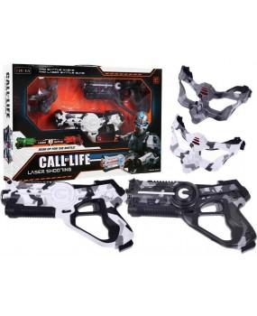 Laserová pištoľ Call of Life maskáčová